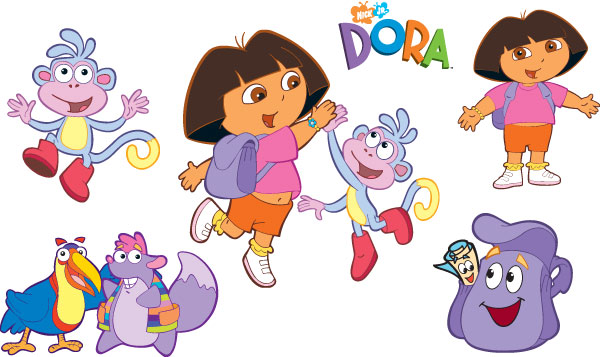 Dora L Exploratrice Des Jeux De Dora